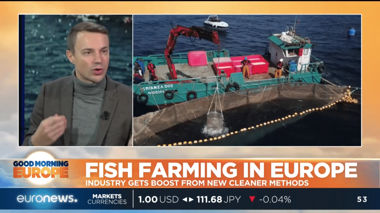 Fish farming for the future • Denis Loctier